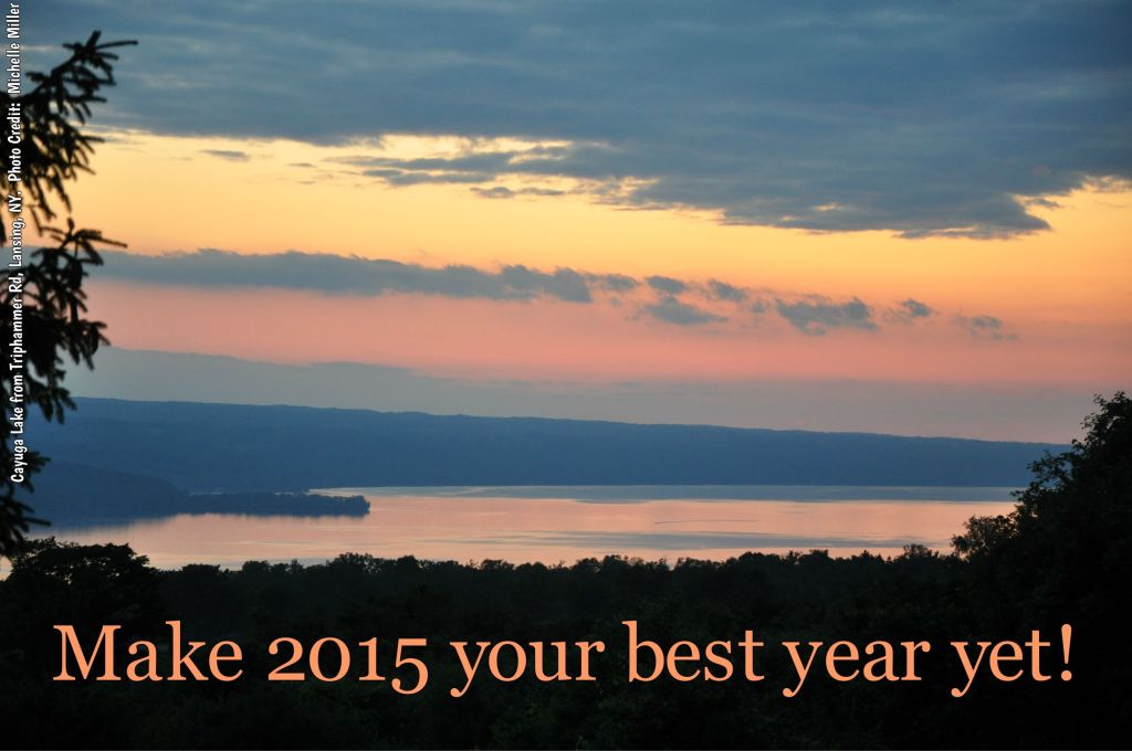 Photo of Cayuga Lake taken from Triphammer Road, Lansing, NY. No edits. Photo Credit: Michelle Miller