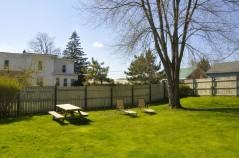 Huge Fenced in backyard