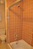Closer look at upstairs bathroom