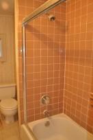 Closer look at upstairs bathroom