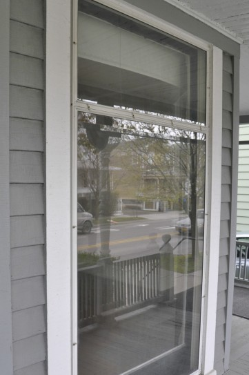 Big Window on the classic front porch.