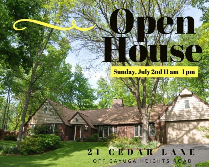 21 cedar open house