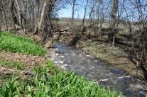 Creek is the eastern border