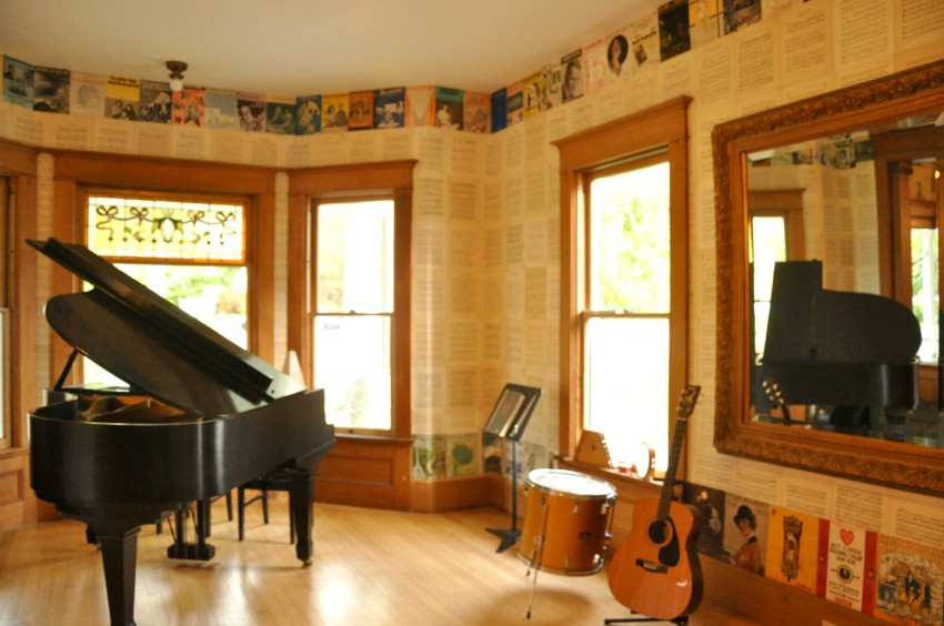 Eastern Music Room, off the Foyer all the light in the world!