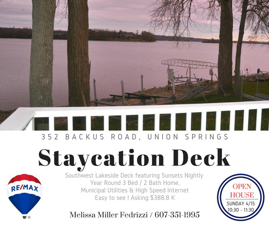 staycation deck