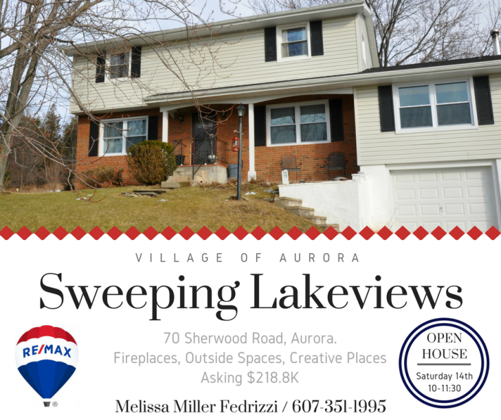Sweeping Lakeviews open house