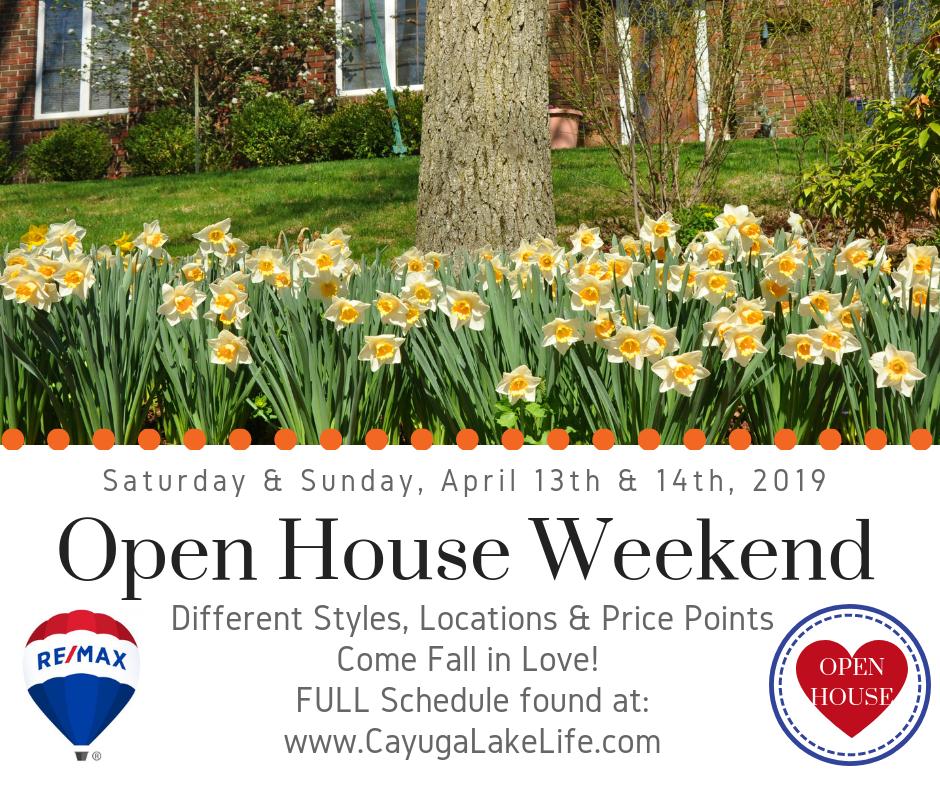 Open House Weekend 4 13 14 19