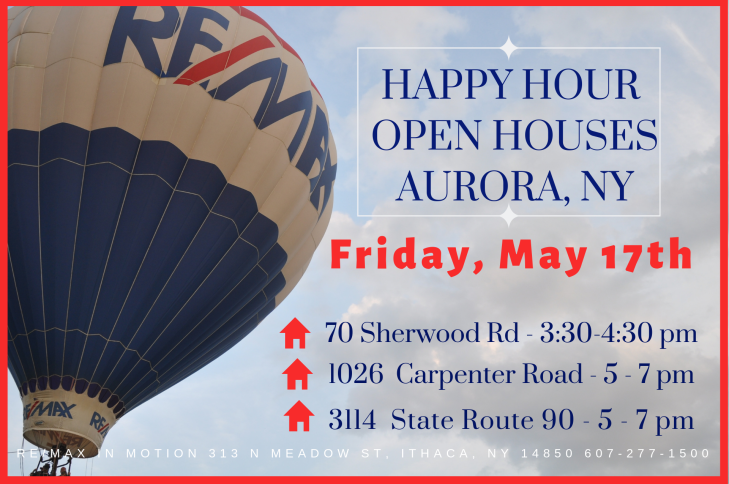 OPEN HOUSe may 17th